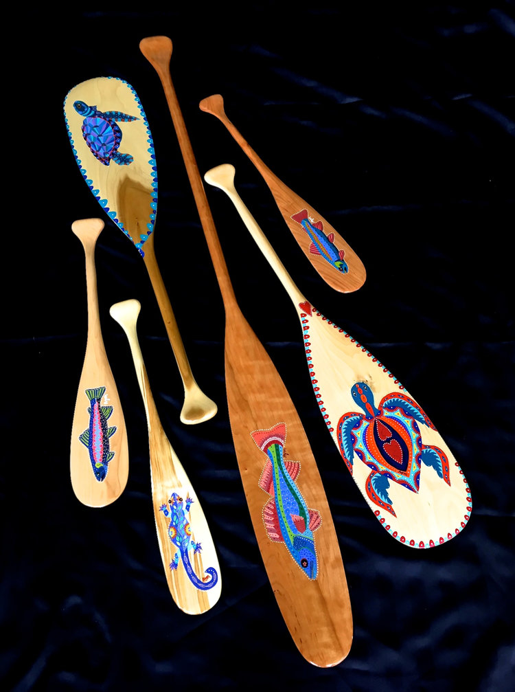 These Paddles Are Triple Dipped In Eurothane So Can Actually Be Used To Paddle As Well Decoratively Displayed