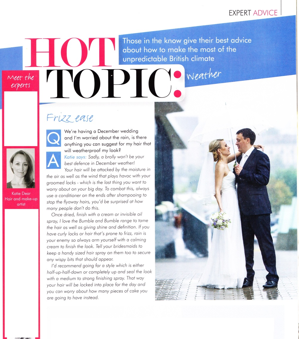 HERTS AND BEDS WEDDING MAGAZINE - EXPERT PANEL