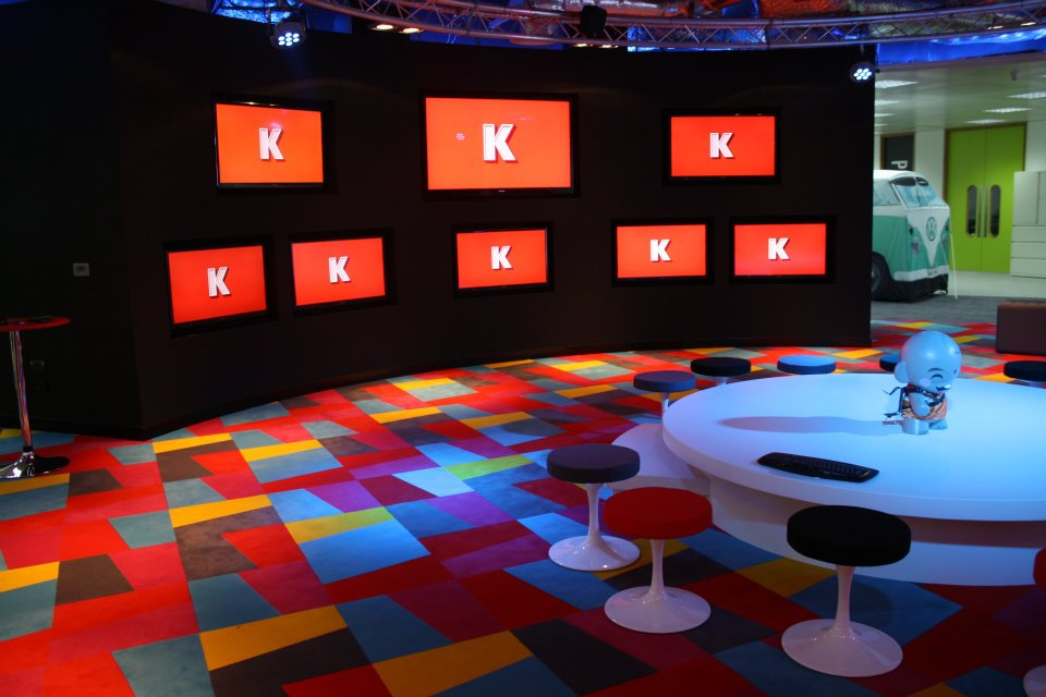 "our ""K PingPong"" animation at the Karmarama office"