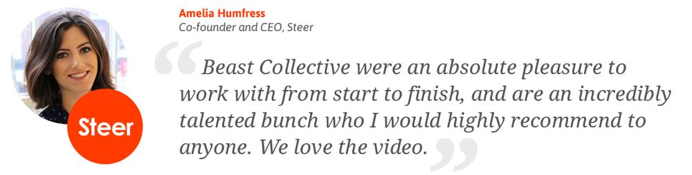Amelia Humfress - Co-Founder & CEO, Steer