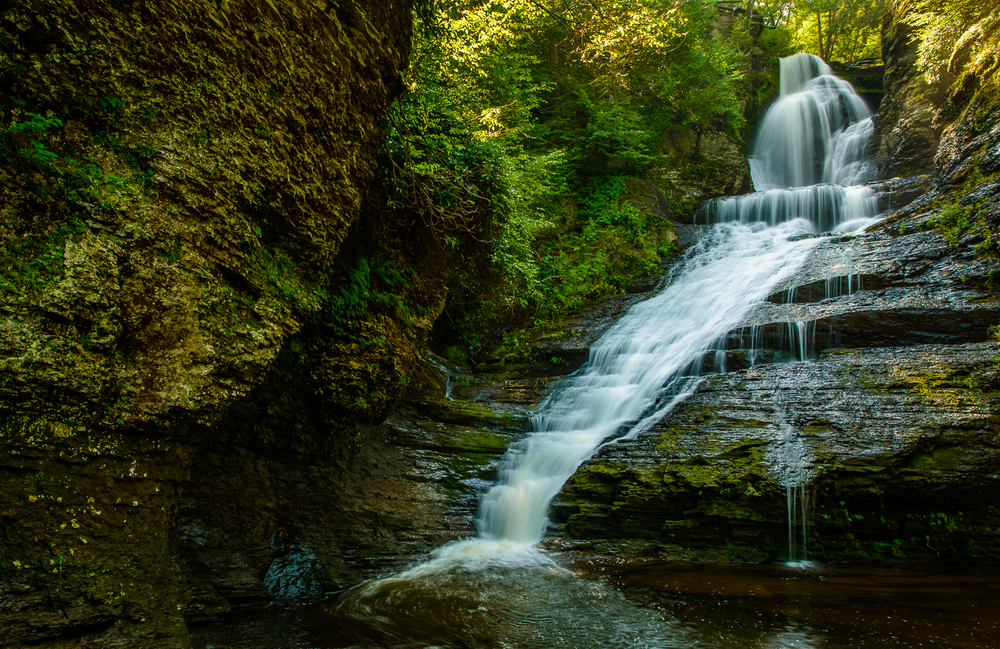 Dingman's Falls - Delaware Township, Pennsylvania
