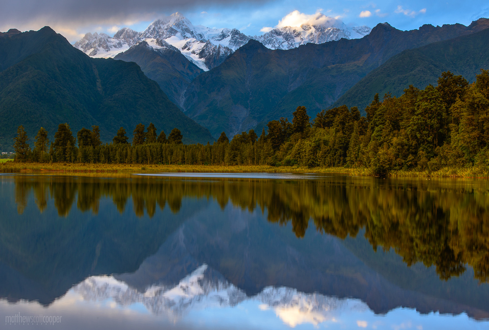 Lake Matheson - South Westland, New Zealand