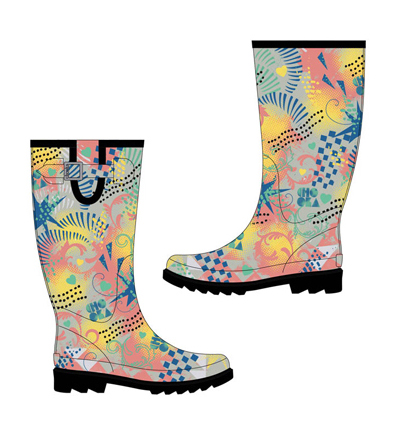 Rain boots designed for Chooka Boots