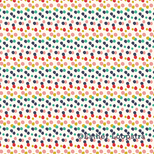 Candy dots pattern
