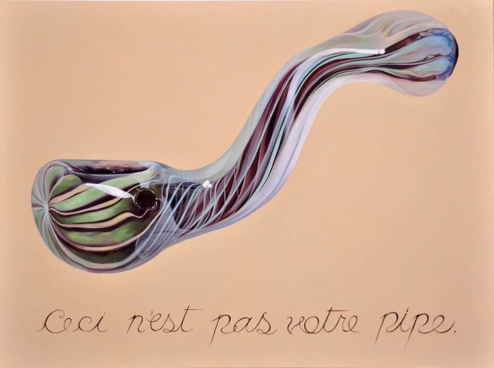 """This is not your pipe"""