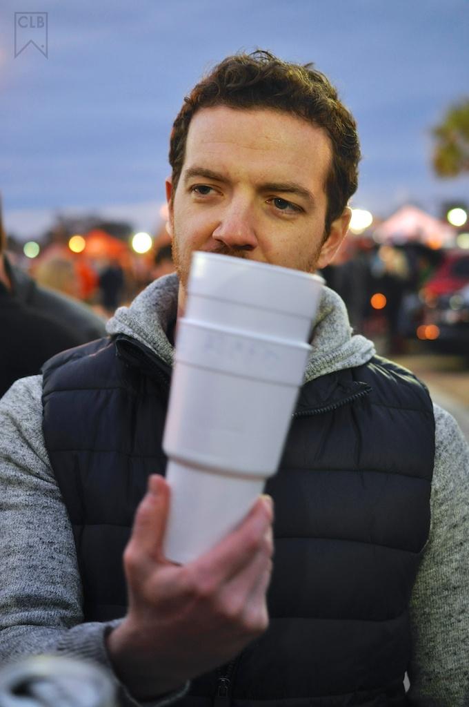 2 Cups. Aka... GDK. Aka. Gameday. Aka. Kevin Roché