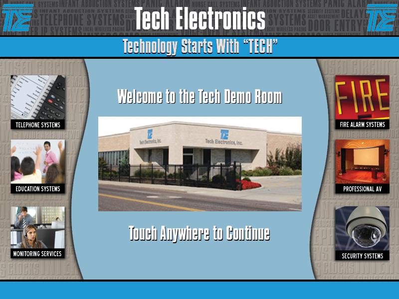 Tech Demo Room - Welcome Page.png