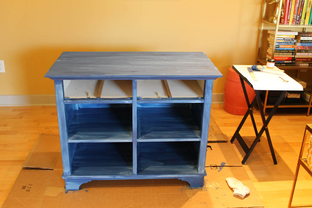 First Coat… needs a couple more, doncha think?
