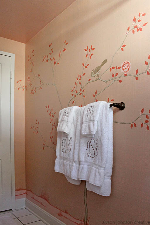 Spaces Filled With Exquisite Hand Painted Wallpaper By De Gounay Or Gracie I Was So Excited When A Like Minded Client Had Me Paint Chinoiserie Style