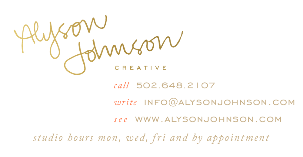 Alyson Johnson Creative Email Signature