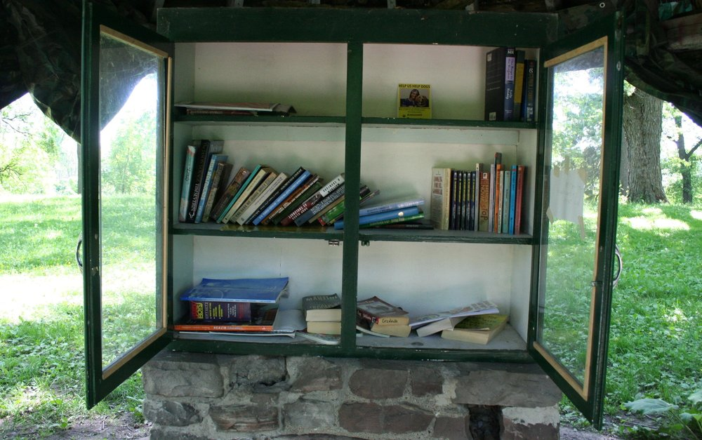 Next time you visit, please be sure to check out our free little library! -