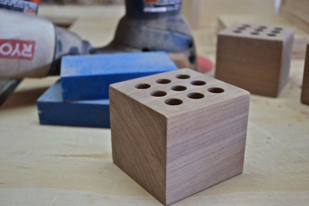 Walnut Pen Cubes Project — The Clicky Post