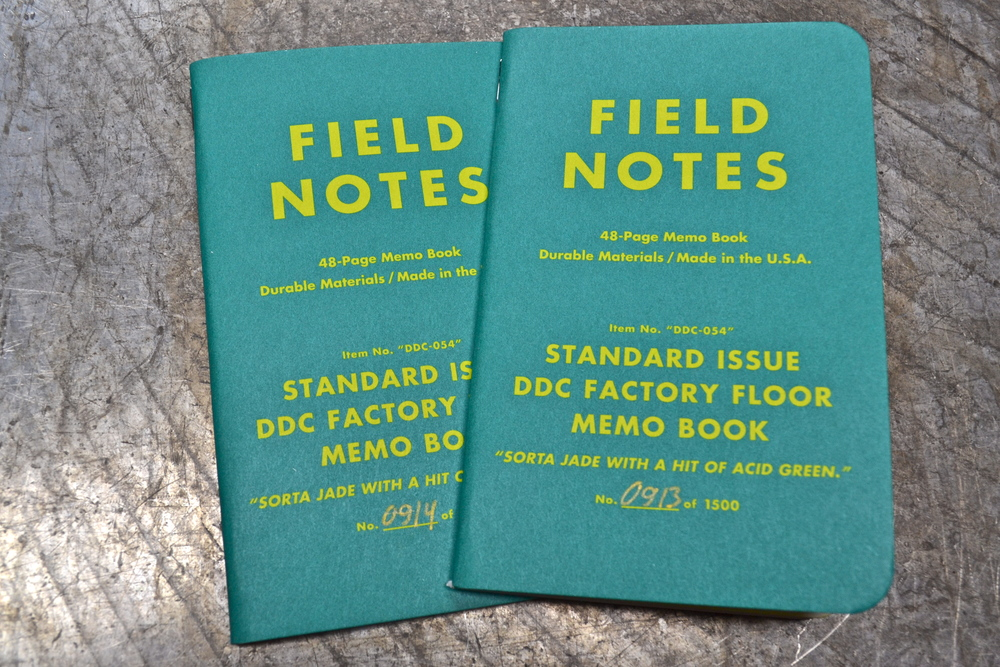 DDC Factory Floor Field Notes