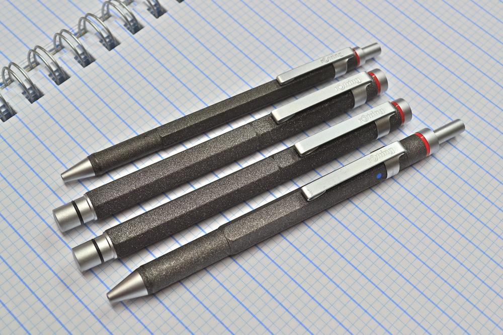 rOtring Lava Multipen ballpoint rollerball fountain pen