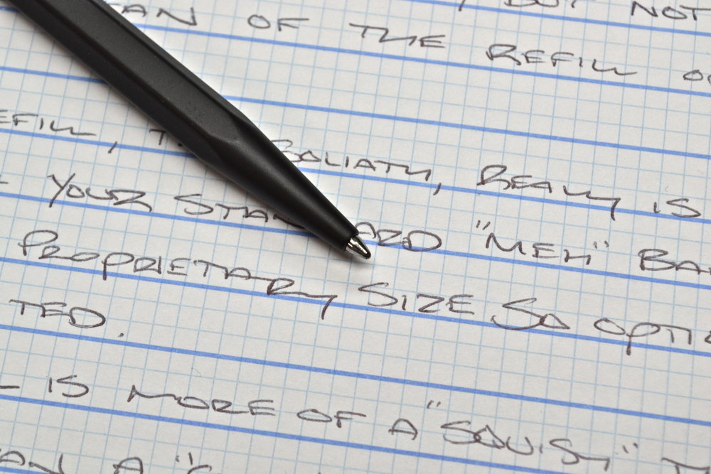 Caran d'Ache 849 Ballpoint Pen Review