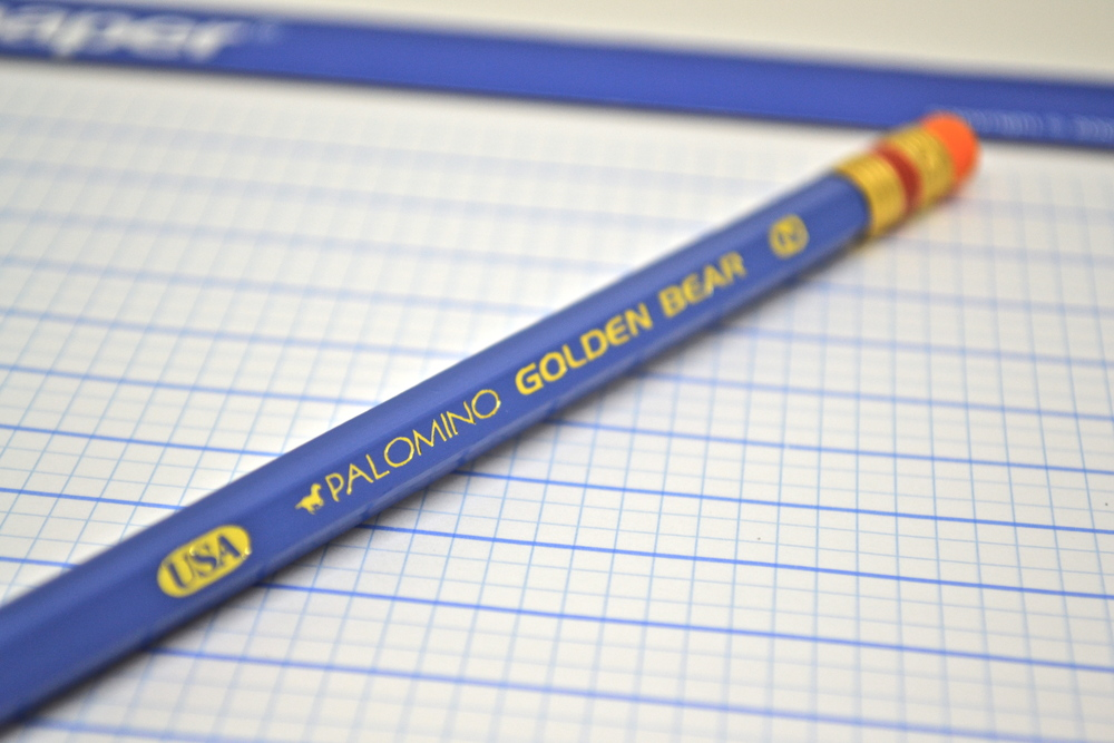 palomino golden bear pencil review