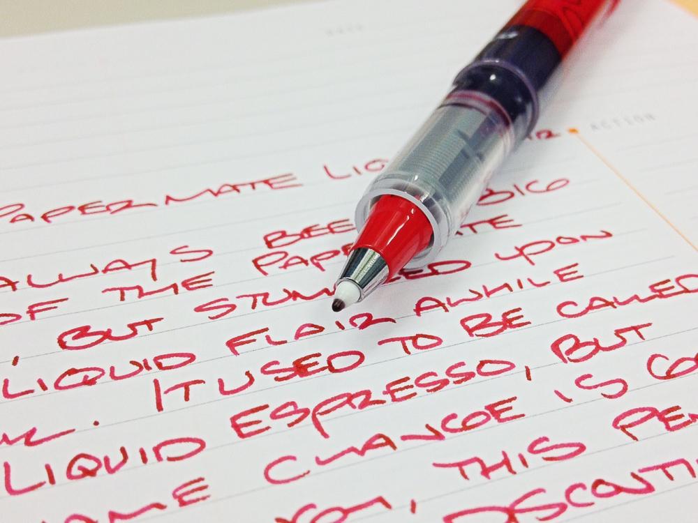 Amazon.com : Paper Mate Liquid Flair Porous-Point Pen, Medium Tip ...
