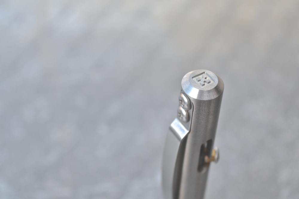 Titanium Maxmadco Bolt Action Retractable Pen Review