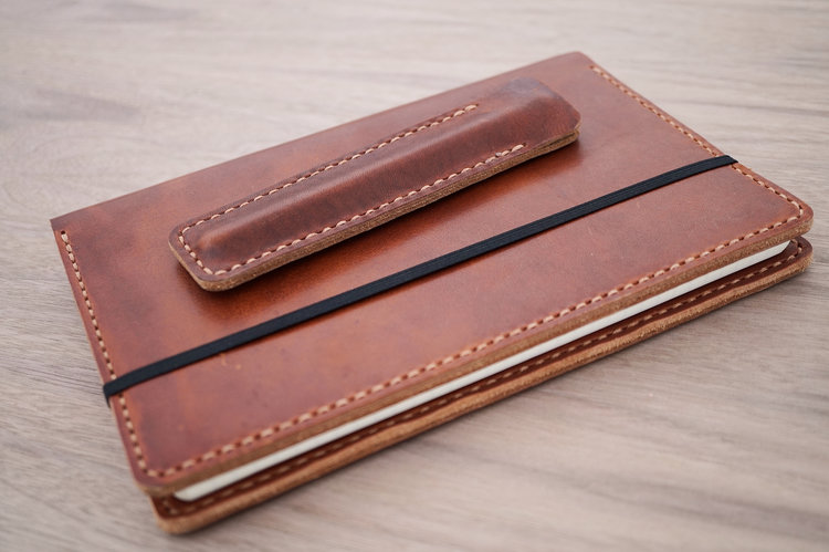Fantastic Makers South Leather Notebook Cover and Pen Sleeve - and Giveaway  WS89