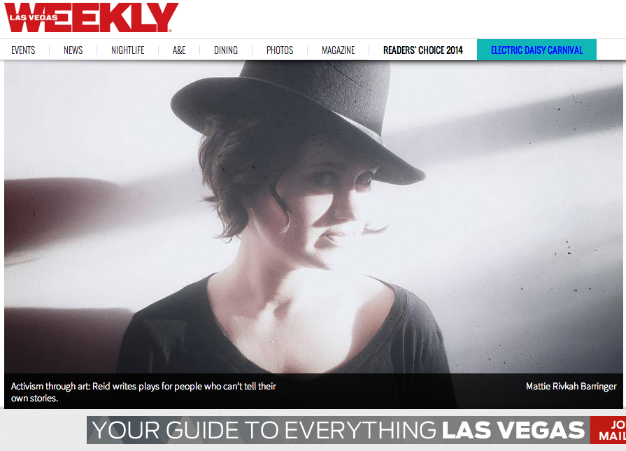 Q&A with Artistic Director Ryan Elisabeth Reid in Las Vegas Weekly.