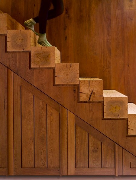 Can you imagine falling down stairs with sharp-milled edges?
