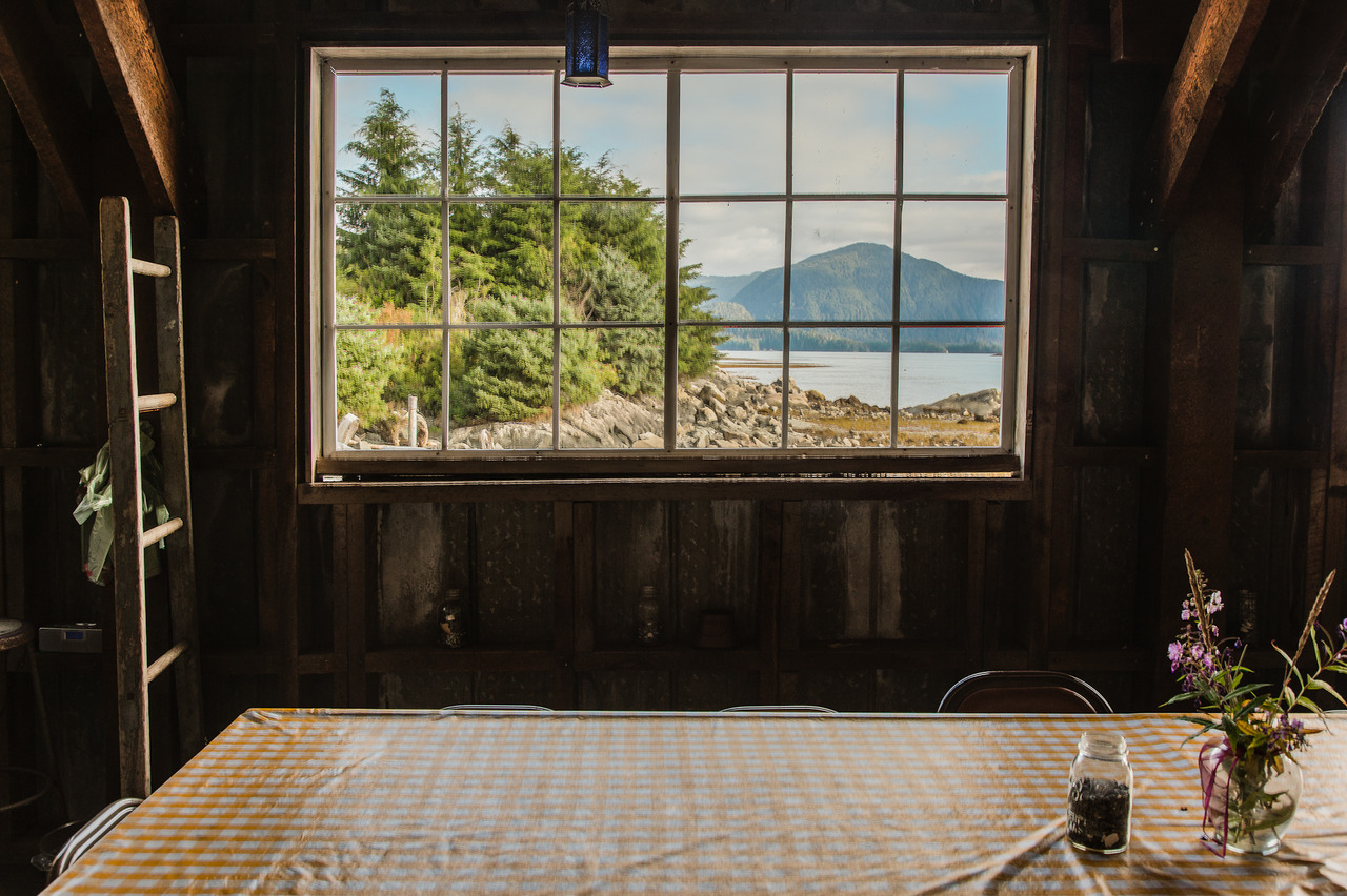 peterbaker: Breakfast View, Alaska