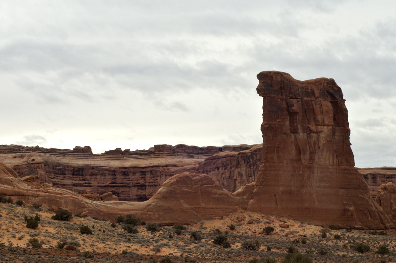 Arches National Park.  Photo by K. Jackson 2012