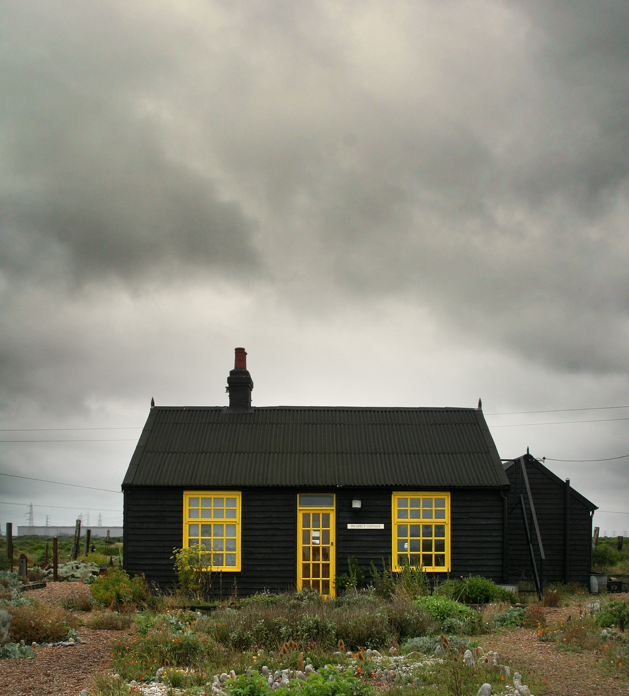 cabinporn: Cottage in Dungeness, Kent, England. Submitted by Paul McNeil.