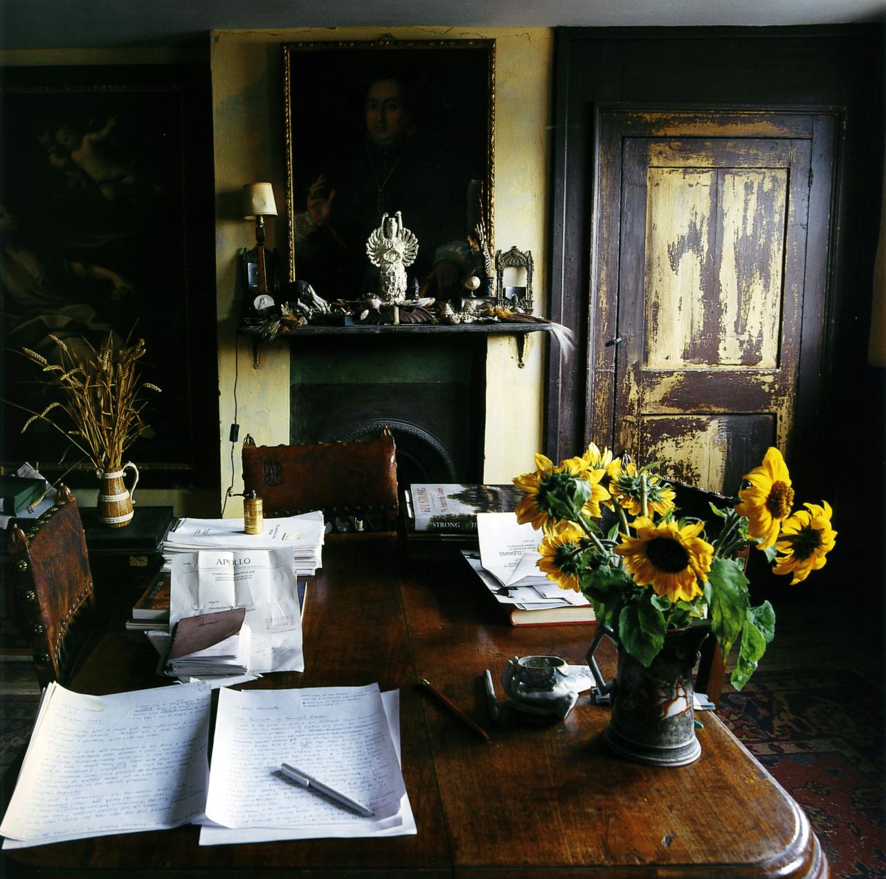 thisivyhouse :     Study