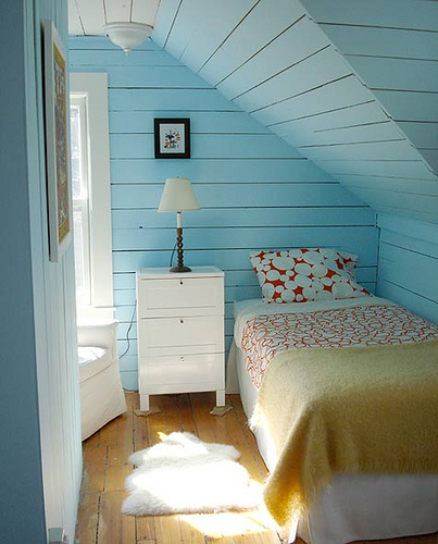 Attic Bedroom Nook  by  Abby Voyles  on Flickr.