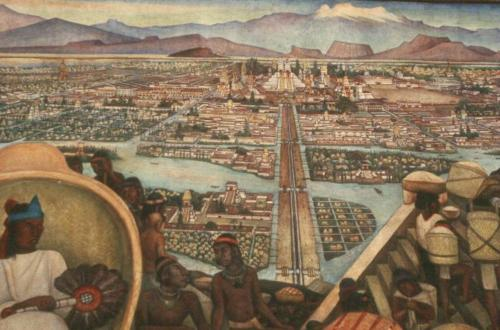 leftist-linguaphile: Diego Rivera's Tenochtitlan