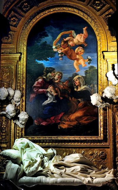 ejwalrus :      Beata Ludovica Albertoni  by  Capitan Mirino ( il Tartarughino )  on Flickr.   whoa. So divine.