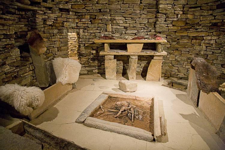 thedeerandtheoak: Skara Brae in Orkney, Scotland (Neolithic village)