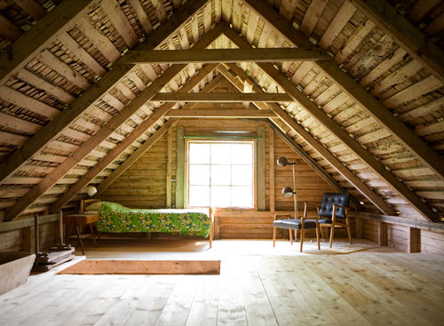 myidealhome: attic love (via sneak peek: elisabeth dunker's country home | Design*Sponge)