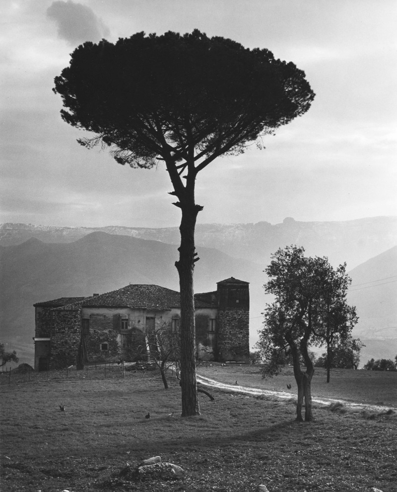 melisaki :     Farmhouse   photo by Edwin Smith, Basilicata, 1963
