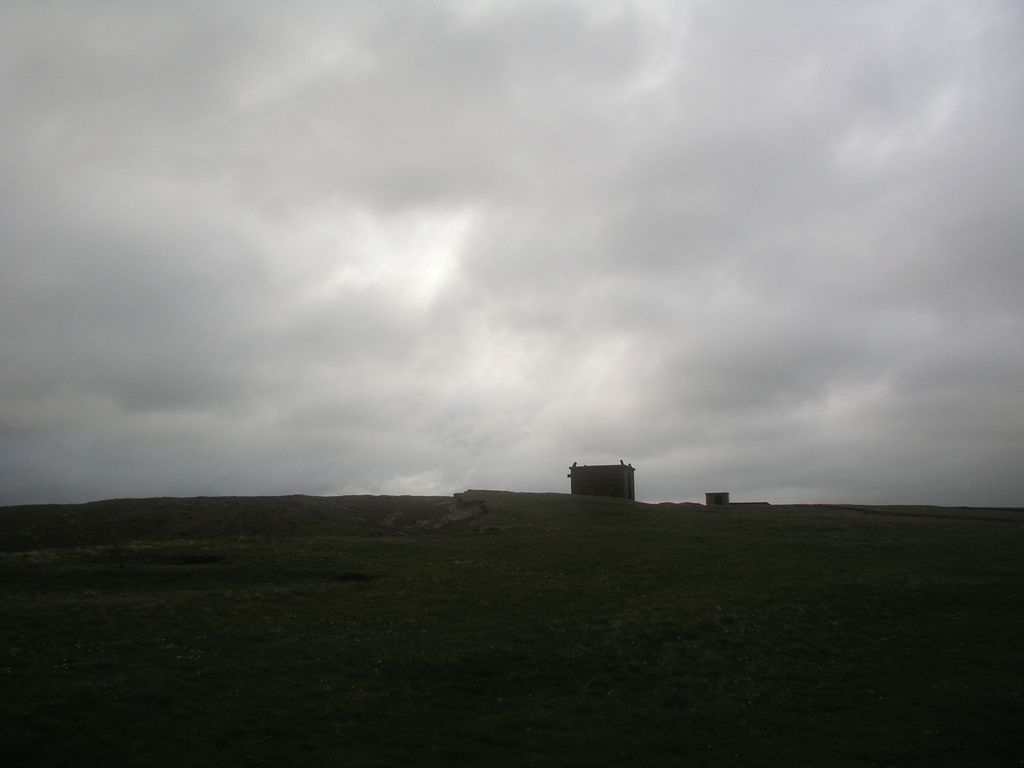 This is a building I found on top of a windy, rainy cliff on the Scottish coast of the North Sea.