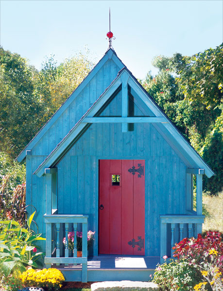 Garden shed on  Popular Mechanics