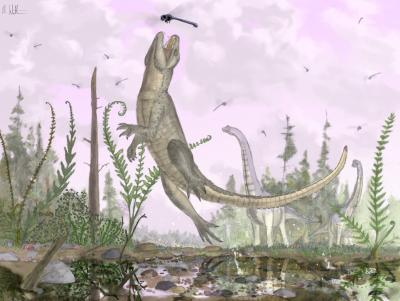 Cretaceous crocodiliform discovered— article inPortuguesehere