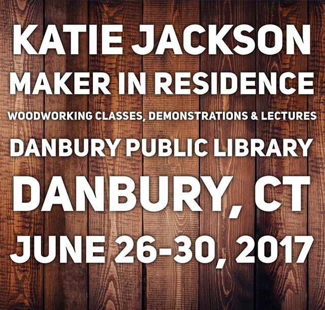 Good afternoon! I'm excited to share that I'll be @danburylibrary's #makerinresidence this June!  Stay tuned for announcements about a week full of woodworking classes and demonstrations based on my book, Hand-Built Outdoor Furniture: 20 Step-By-Step Projects Anyone Can Build!  Anyone Can Build- and I'll be there to help get you started.  #woodworking #danbury #danburyct #shopclass #woodworkingforall #diywoodworking #danburylibrary