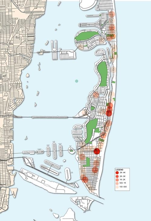 Miami Beach BikePed MasterPlan Medicine Wheel Apothecary - Miami beach zoning map