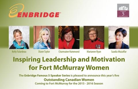 Enbridge FamousFive Women of Distinction, 2016