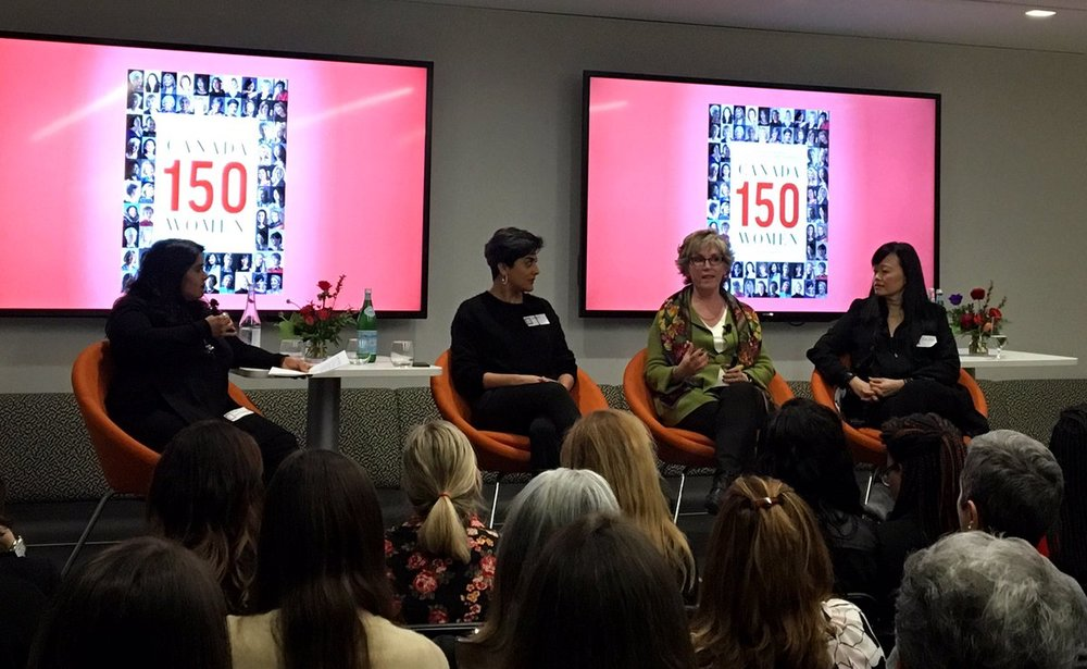 Canada150Women at Penguin Random House Canada, 2018