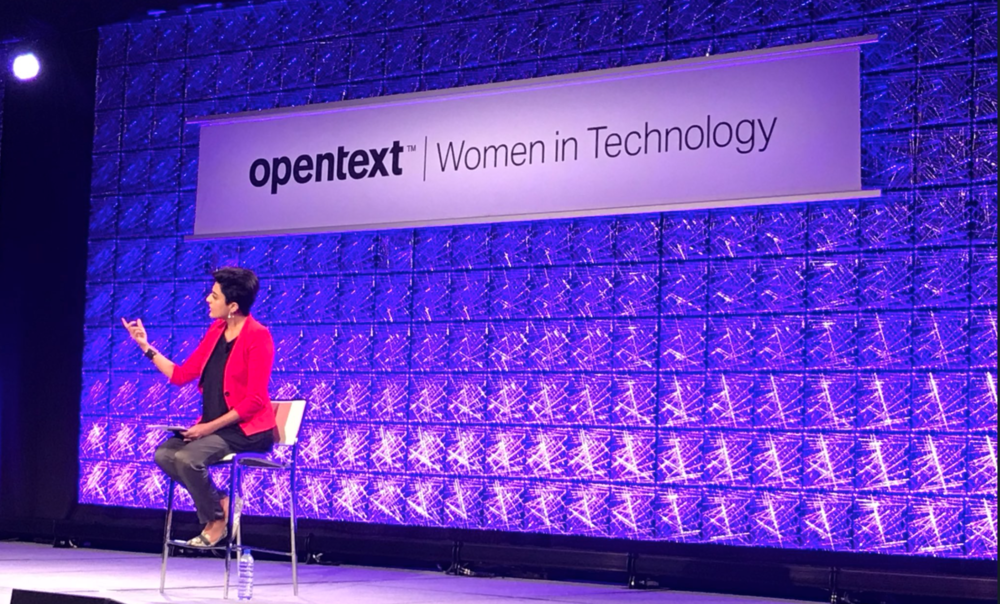 OpenText Women in Technology Summit, 2018