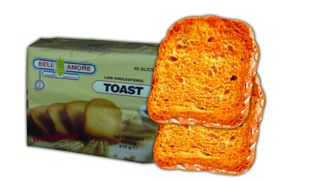 Bell'Amore Toasts