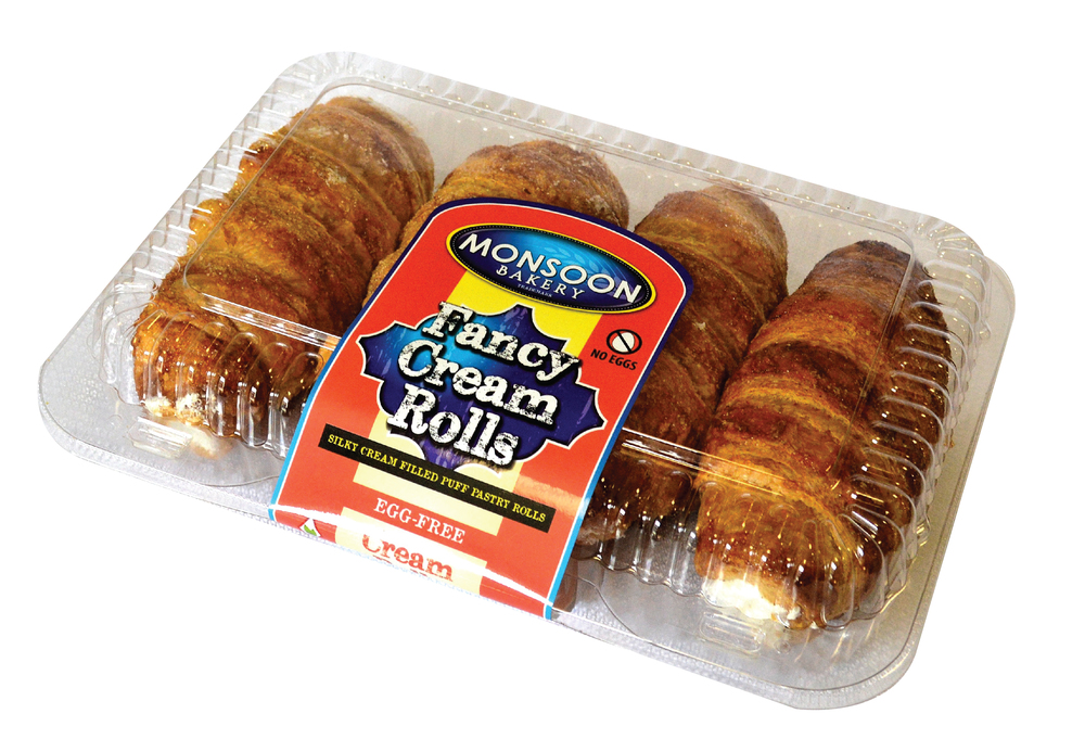 Fancy Cream Rolls