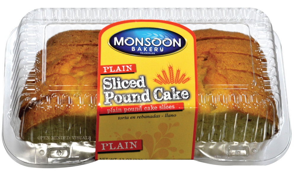 Plain Sliced Pound Cake