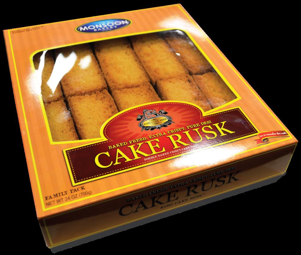 King Cake Rusk