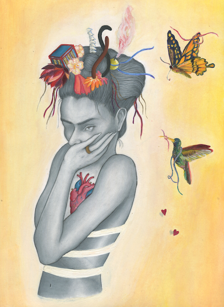 Vida en el Arte, Frida (Life in art, Frida)