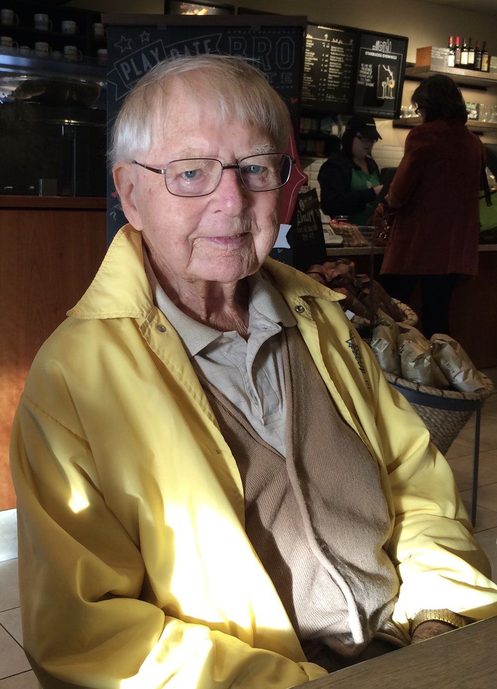 My Grandad circa 2014