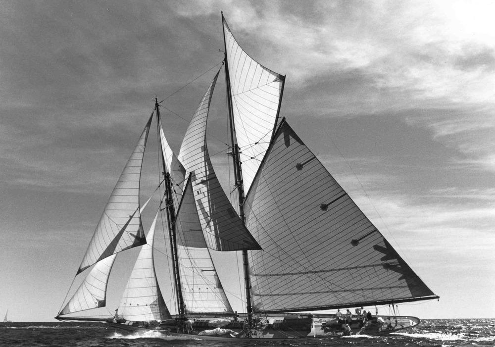 Sunshine sailing, B/W